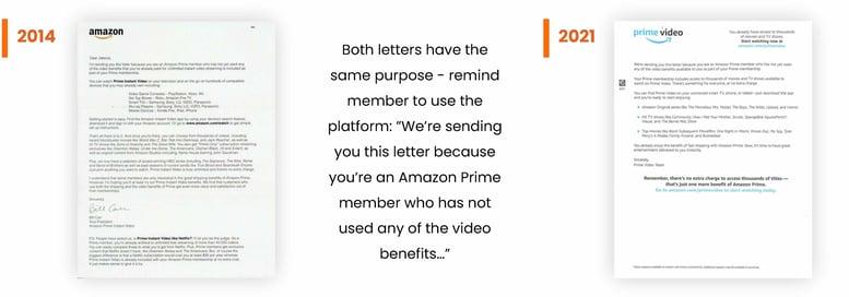 Amazon Letters